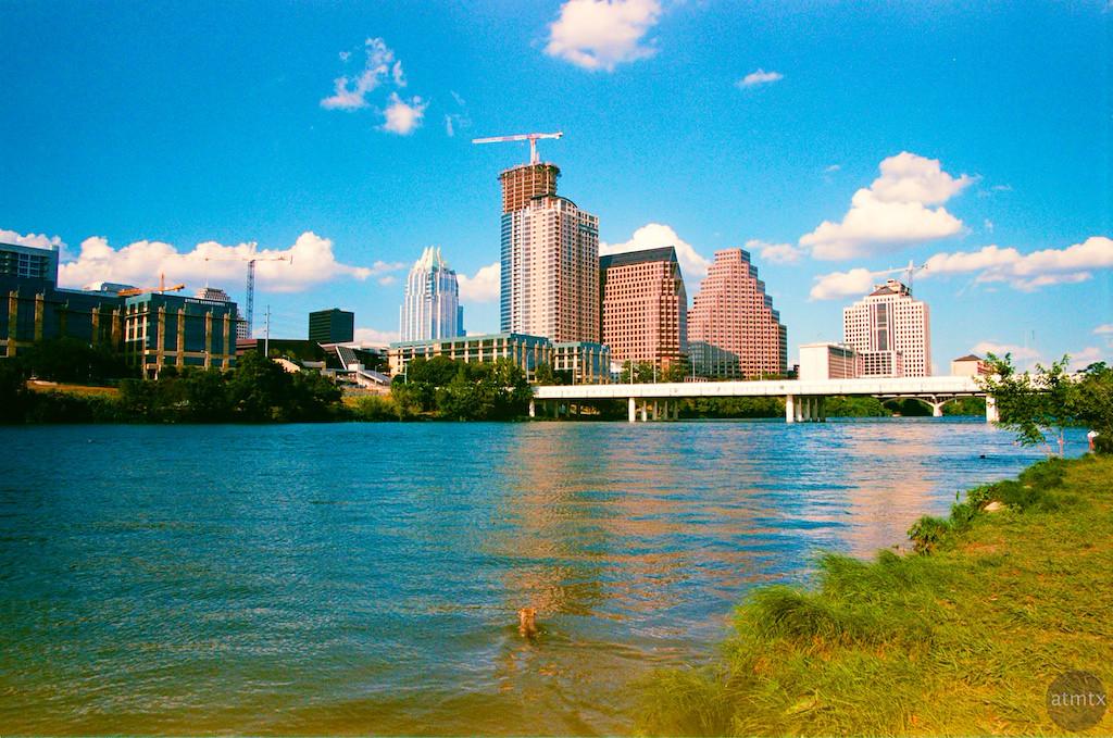 Skyline by the dog park - Austin, Texas