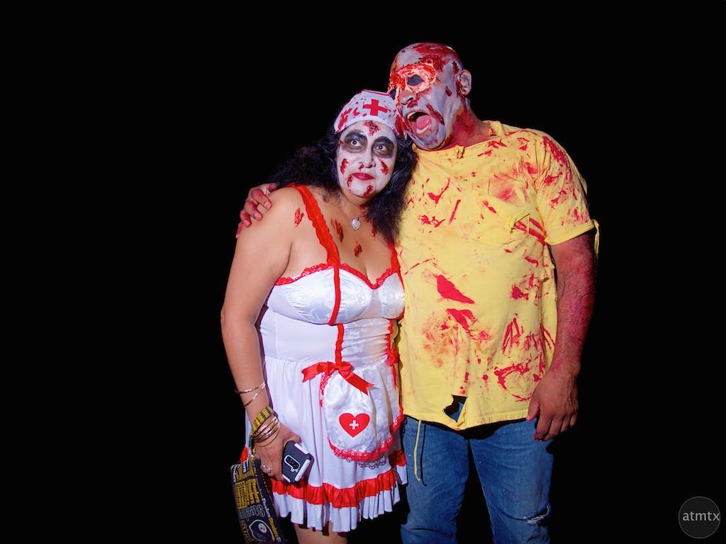 Portraits, Halloween on 6th Street 2015 - Austin, Texas