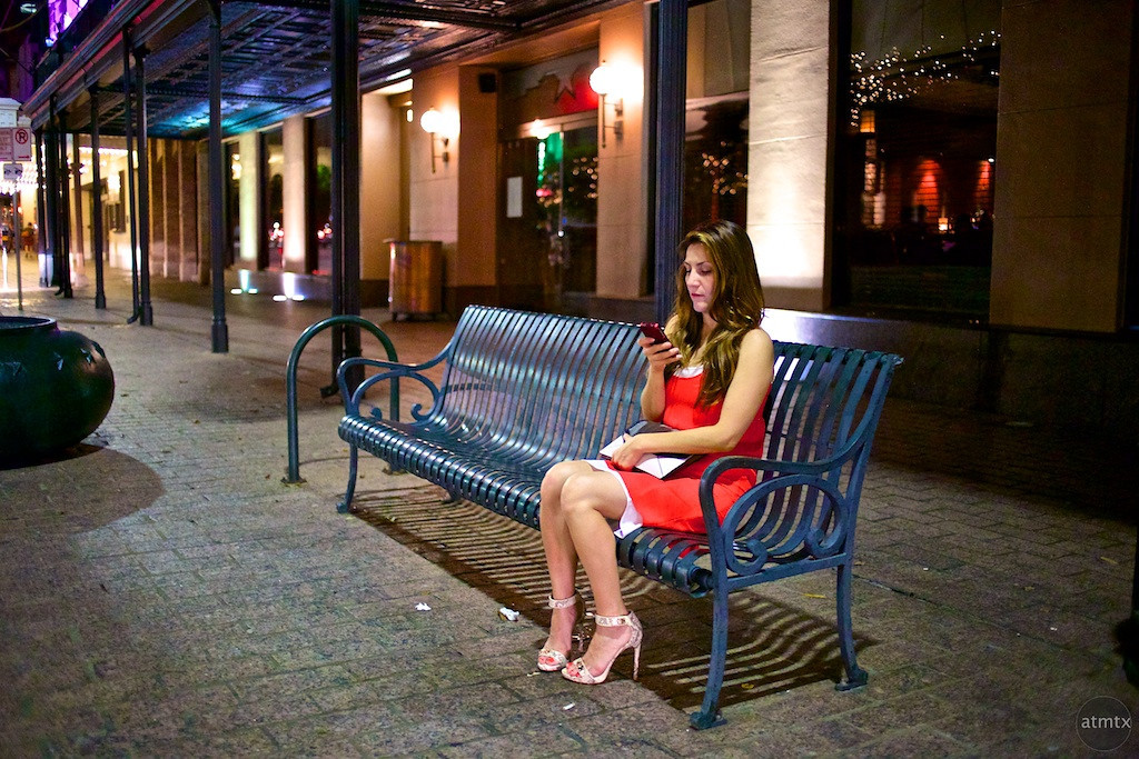 Women in Red, Congress Avenue - Austin, Texas