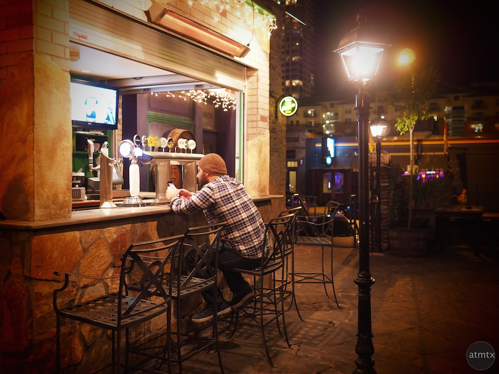 Outside Bar, Fado - Austin, Texas