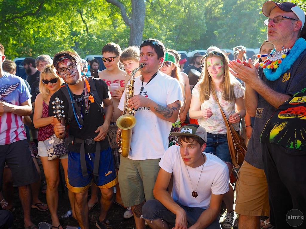Drum Circle #2, Eeyore's Birthday Party 2015 - Austin, Texas