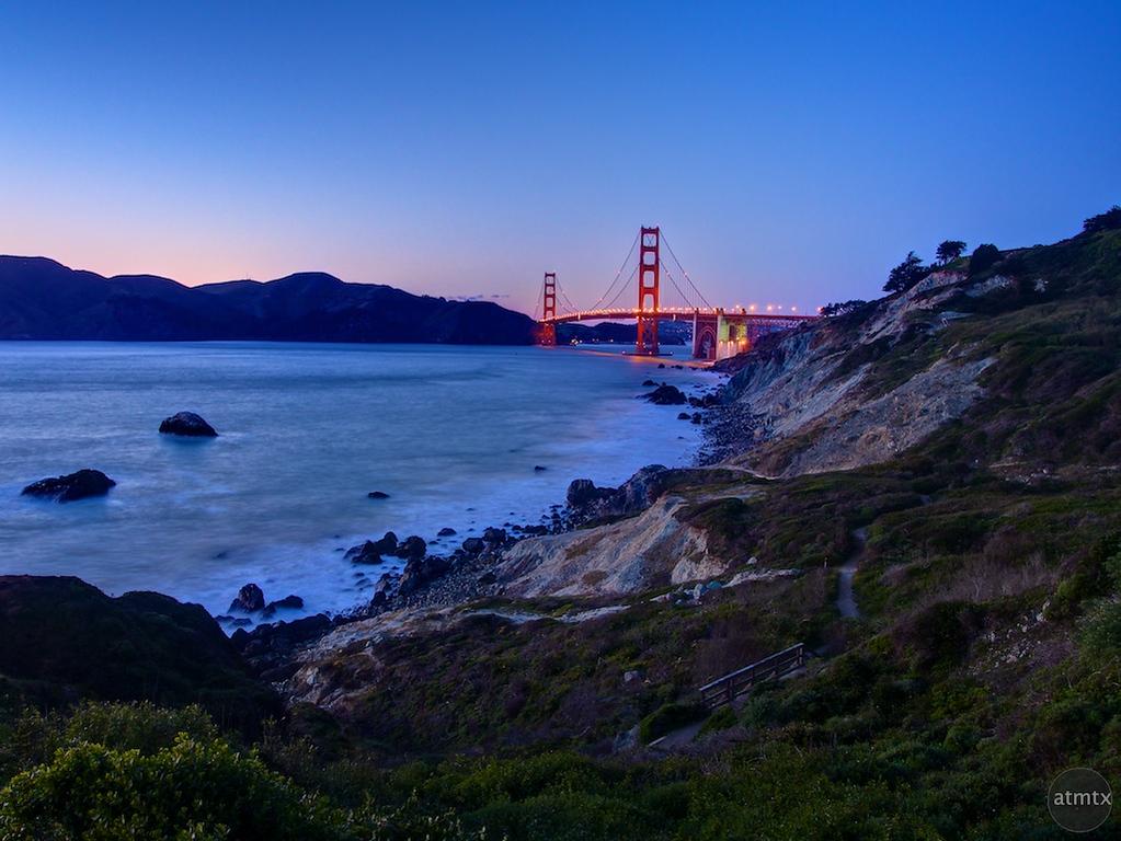 Golden Gate Bridge, Battery Crosby - San Francisco, California