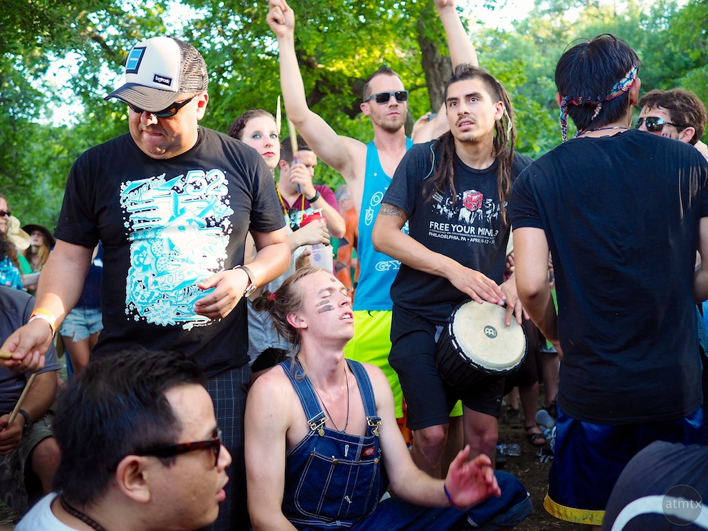 Drum Circle #3, Eeyore's Birthday Party 2015 - Austin, Texas