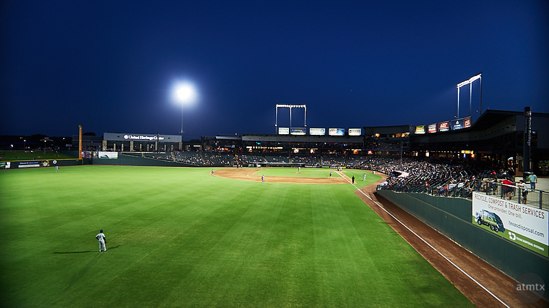 Blue Hour at the Dell Diamond - Round Rock, Texas