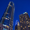 Austonian at Blue Hour - Austin, Texas