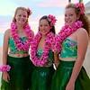 Hula Dancers, Behind the Scenes - Honolulu, Hawaii