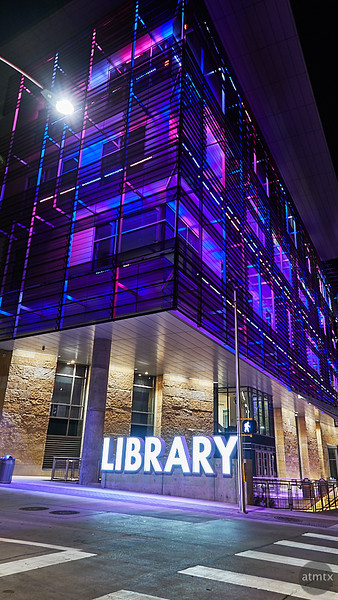 Technicolor Library - Austin, Texas