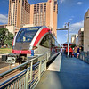 Metro Rail, Downtown - Austin, Texas