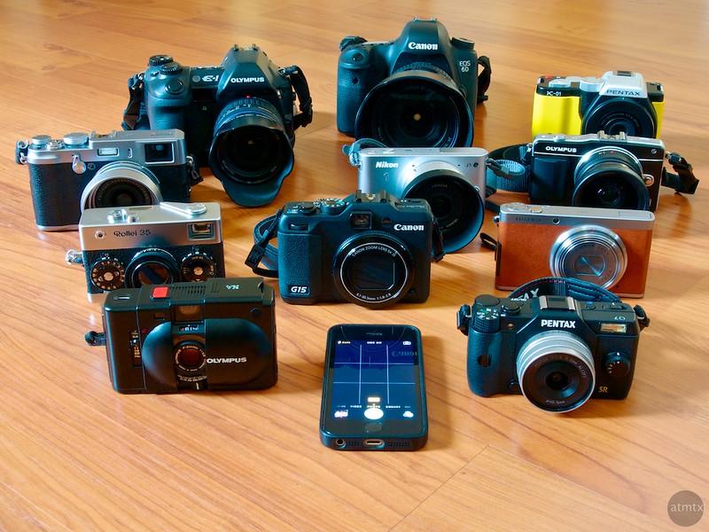 atmtx 2014 Camera Award Collection