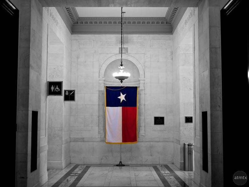 Texas Flag, Russell Senate Office Building - Washington DC