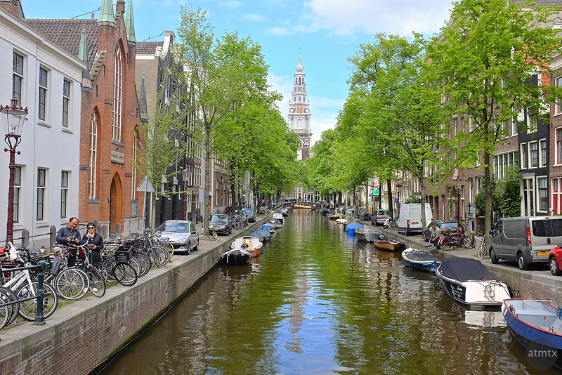 Picturesque Canal - Amsterdam, Netherlands (standard processing)