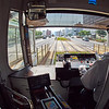 Interior, Streetcar Fisheye - Hiroshima, Japan