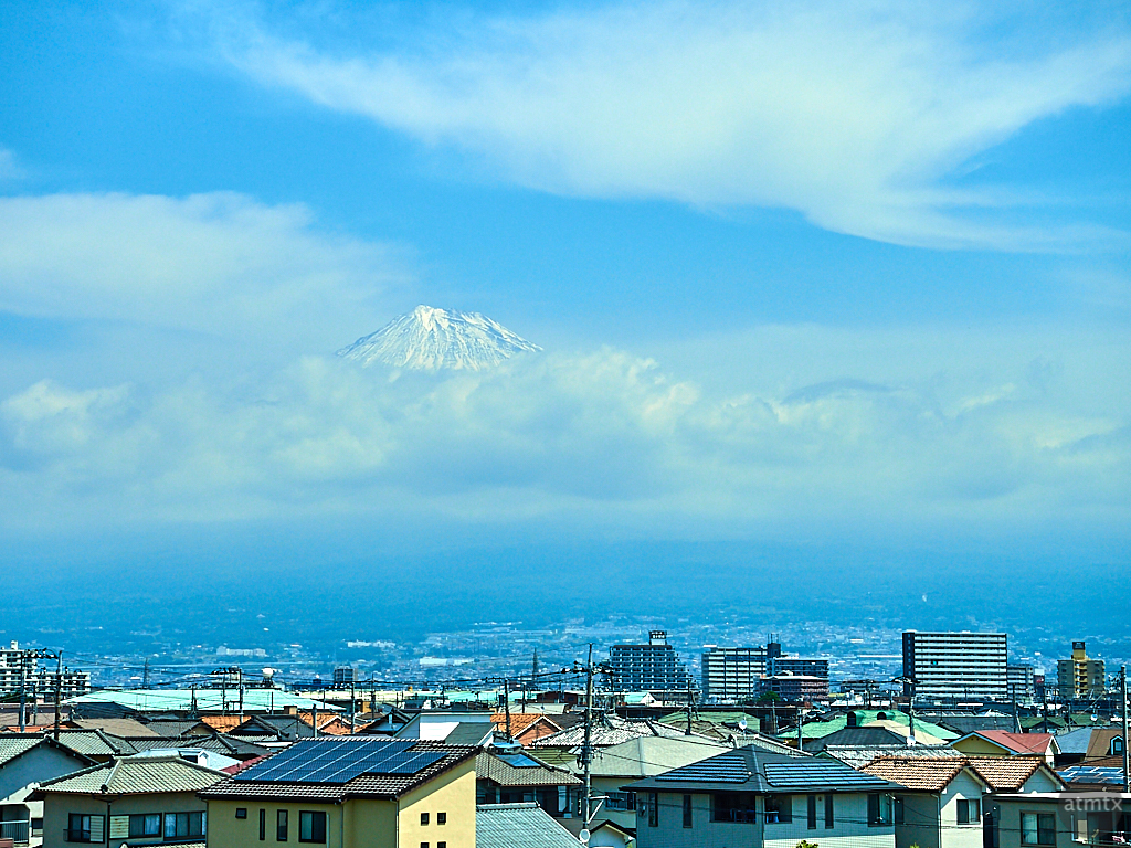 A Glimpse of Mount Fuji - Chubu Region, Japan