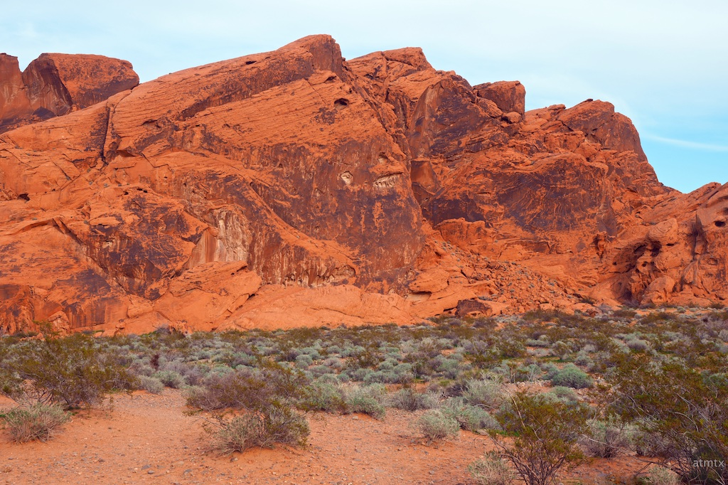 Mostly Scrub and Rocks, Valley of Fire State Park - Overton, Nevada