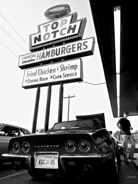 Corvette at Top Notch - Austin, Texas
