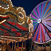Carousel and Ferris Wheel, Rodeo Austin - Austin, Texas
