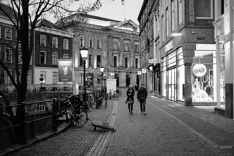 A Couple at Dusk - Utrecht, Netherlands
