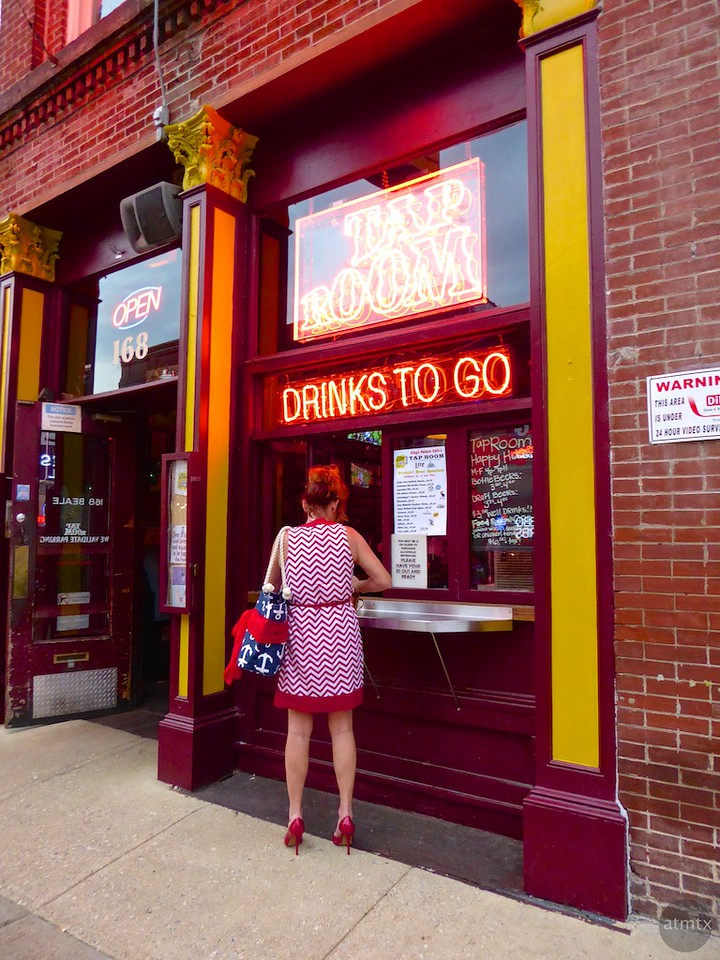 Drinks to Go, Beale Street - Memphis, Tennessee