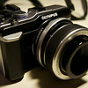 Olympus E-PL1 with a Lens Baby Composer