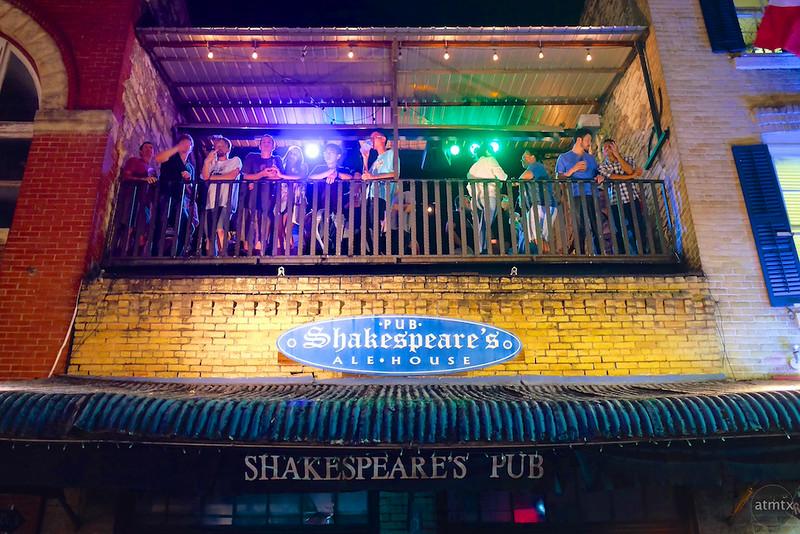 Shakespeare's Balcony, 6th Street - Austin, Texas
