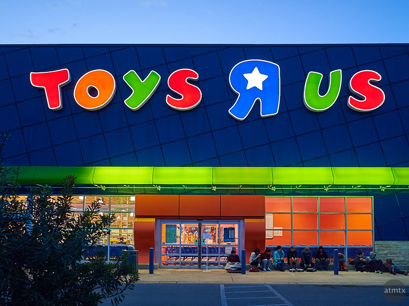 Early Morning at Toys R Us - Austin, Texas