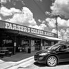 Parker's Corner Market - Liberty Hill, Texas  (black and white)