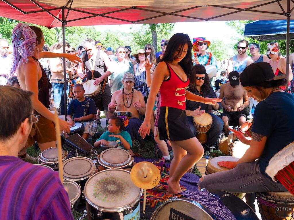 Dancing Girl #2, Eeyore's Birthday Party 2015 - Austin, Texas