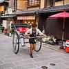 Jinrikisha - Kyoto, Japan