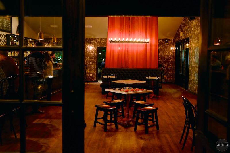 Lucille's Bar Patio, Rainey Street - Austin, Texas