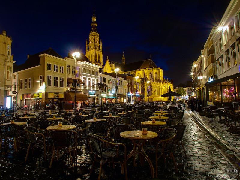 Restaurants around the Grote Church - Breda, Netherlands