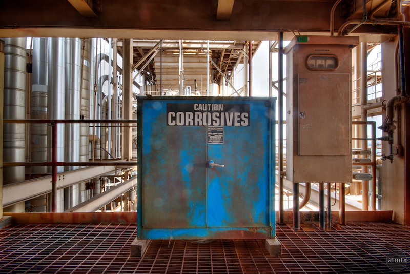 Holly Power Plant, Corrosives - Austin, Texas