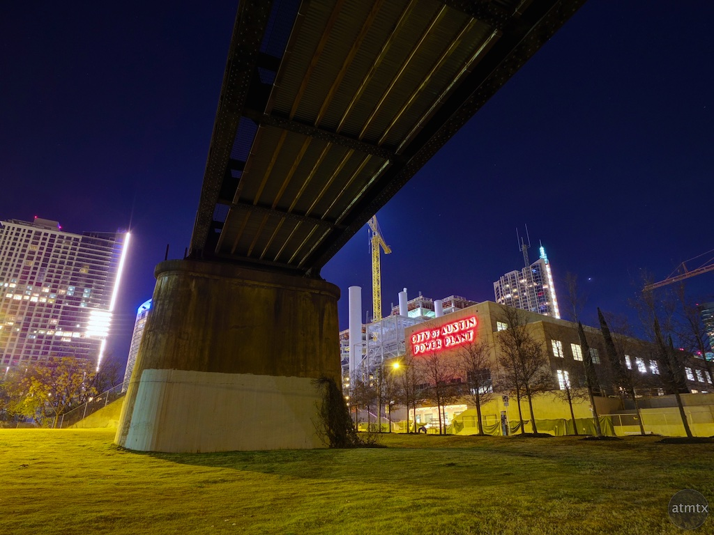 Under the Train Tracks - Austin, Texas
