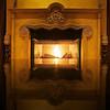 Fireplace Reflections, Cypress Hotel - Cupertino, California