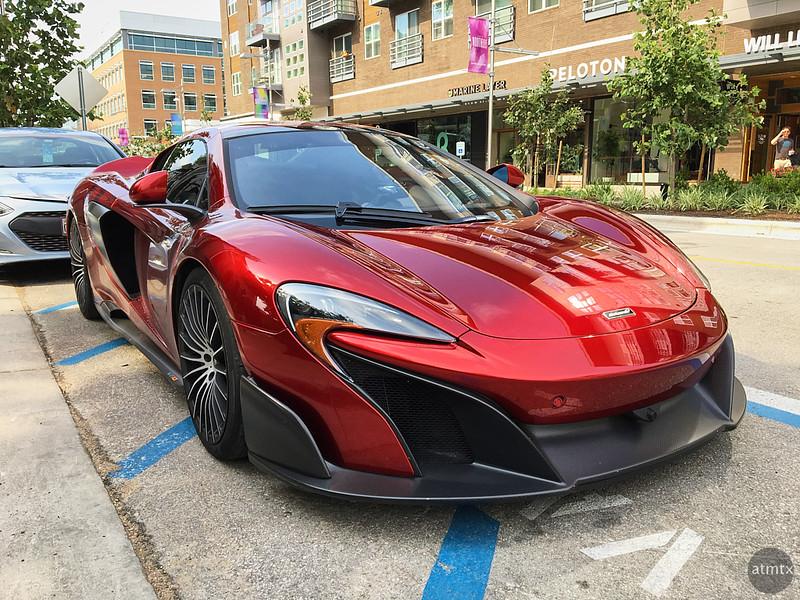 McLaren, The Domain Northside - Austin, Texas