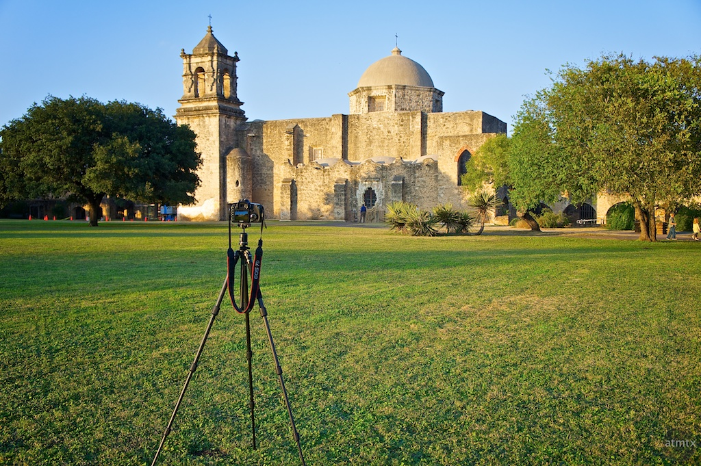 Mission San Jose and Canon 7D
