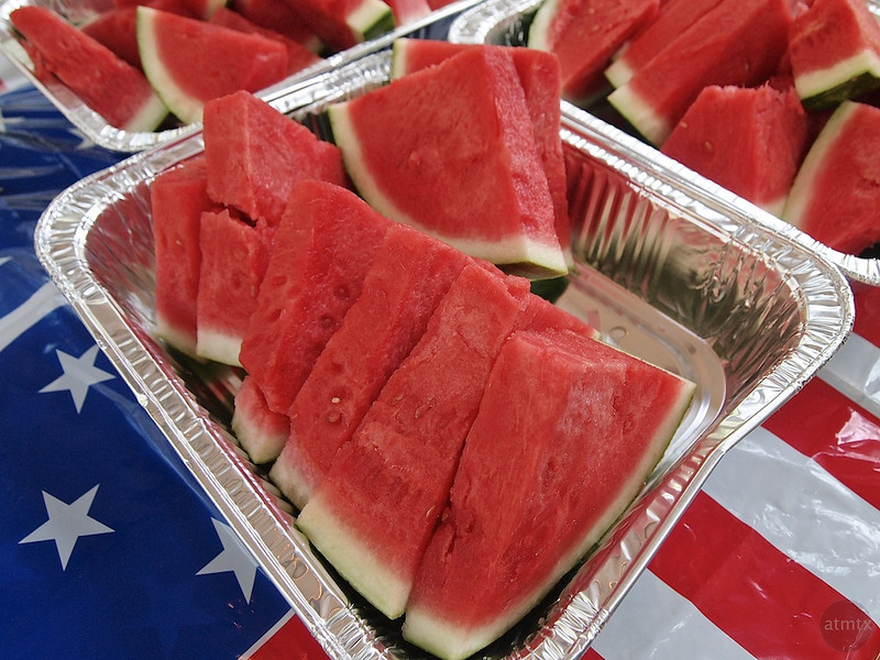 Watermelon on the 4th - Austin, Texas