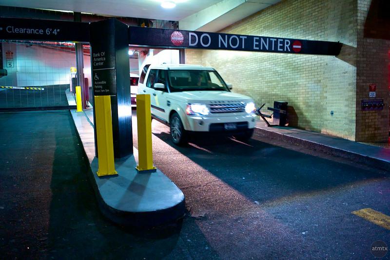 Do Not Enter, 6th Street - Austin, Texas