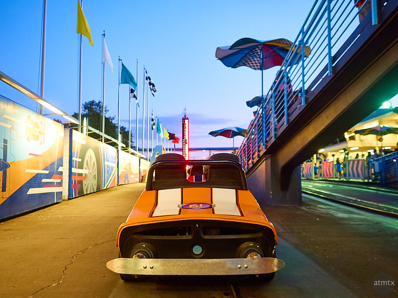 Tomorrowland Speedway, Disney World - Orlando, Florida