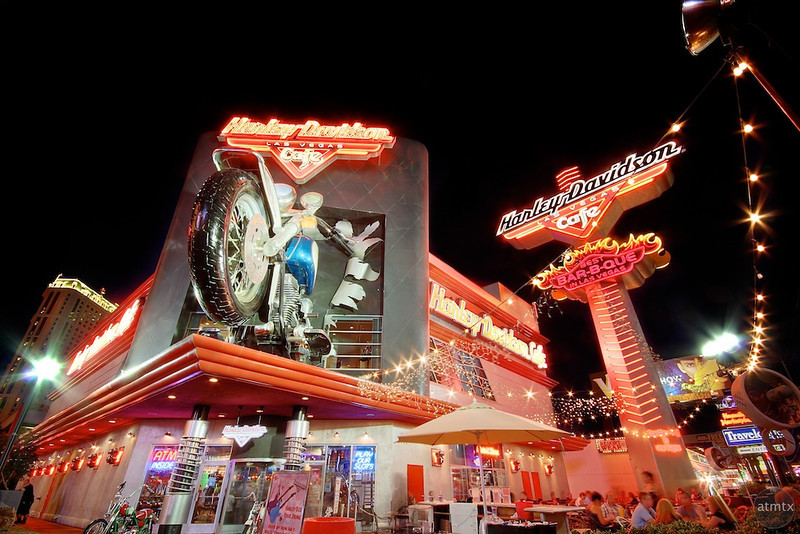 Harley Davidson Cafe - Las Vegas, Nevada