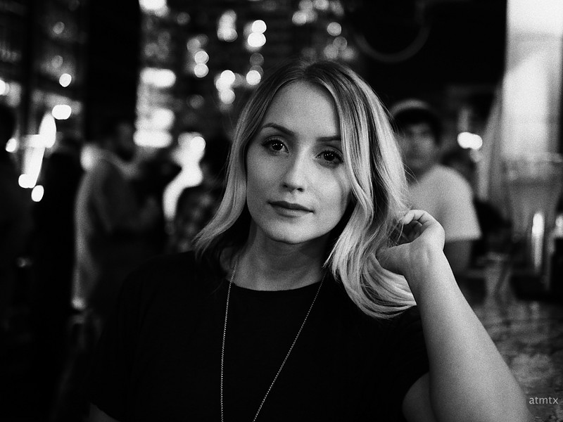 Michelle, Drink and Click Portrait - Austin, Texas