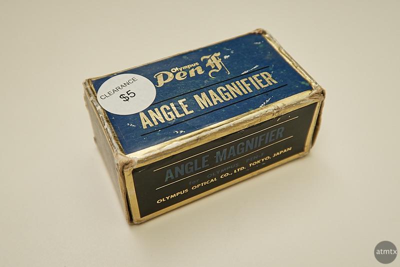 Angle Magnifier, Pen F Film - Austin, Texas