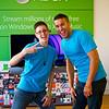 Nikki and Derek, Microsoft Store - Austin, Texas