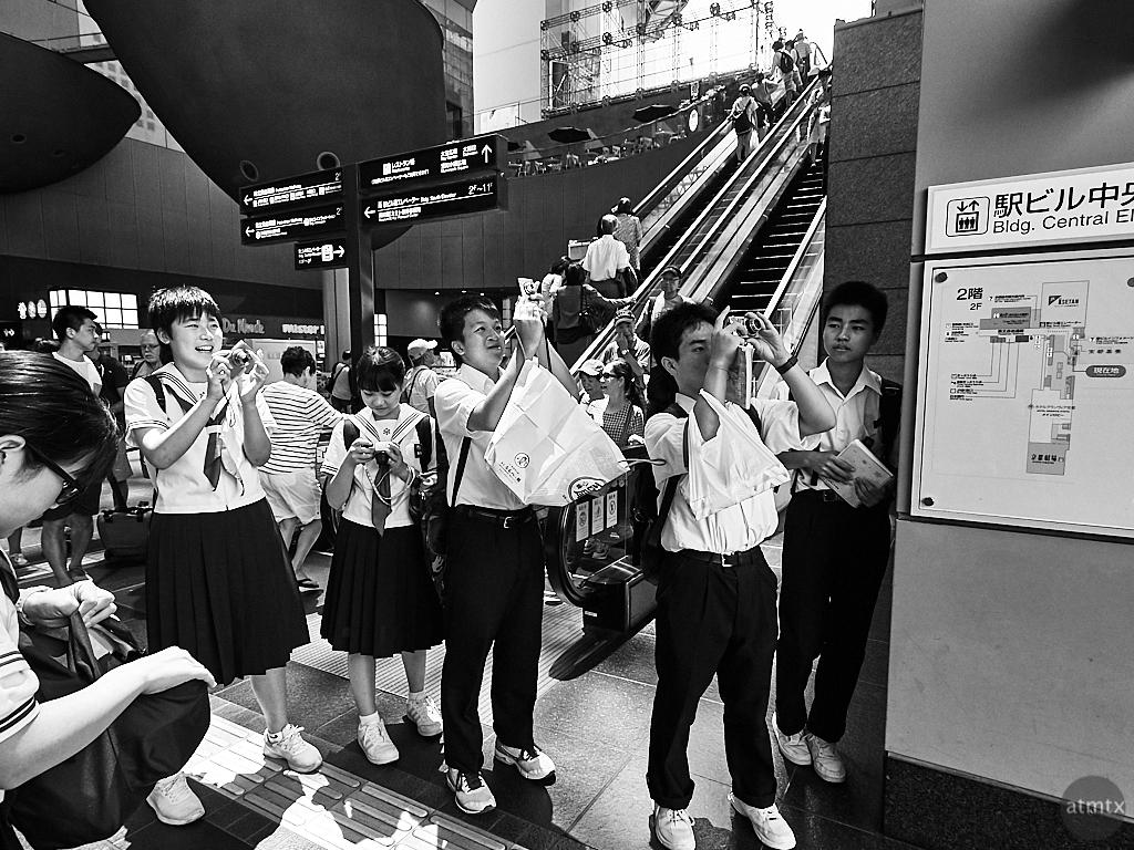 Middle School Field Trip - Kyoto, Japan
