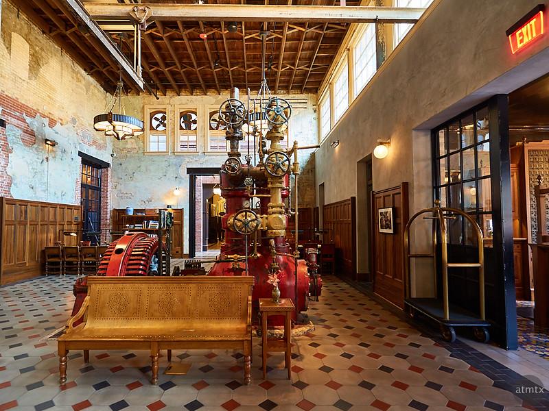 Lobby, Hotel Emma - San Antonio, Texas