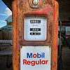 Antique Mobil Gas Pump - Smithville, Texas