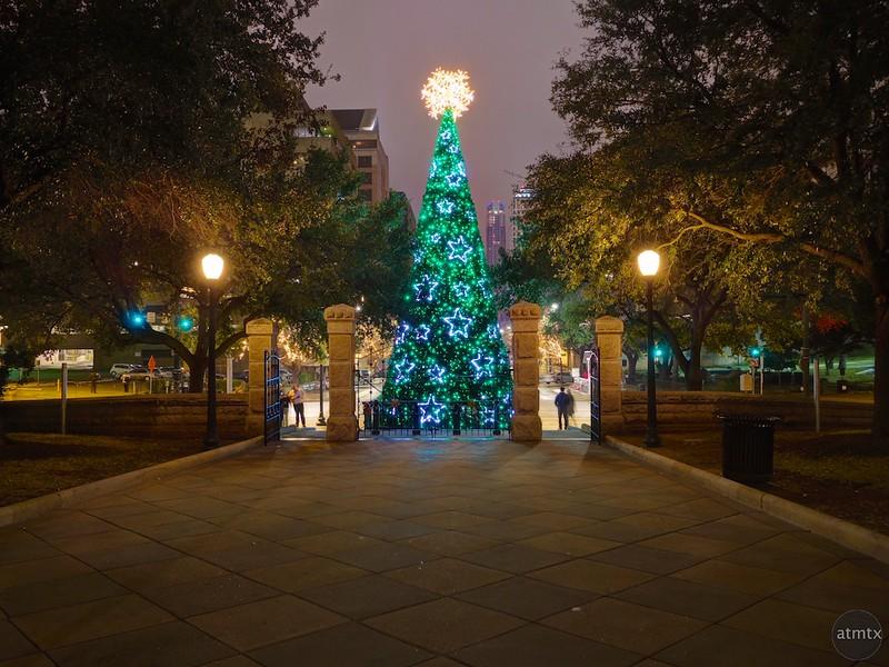 Texas Capitol Christmas Tree - Austin, Texas