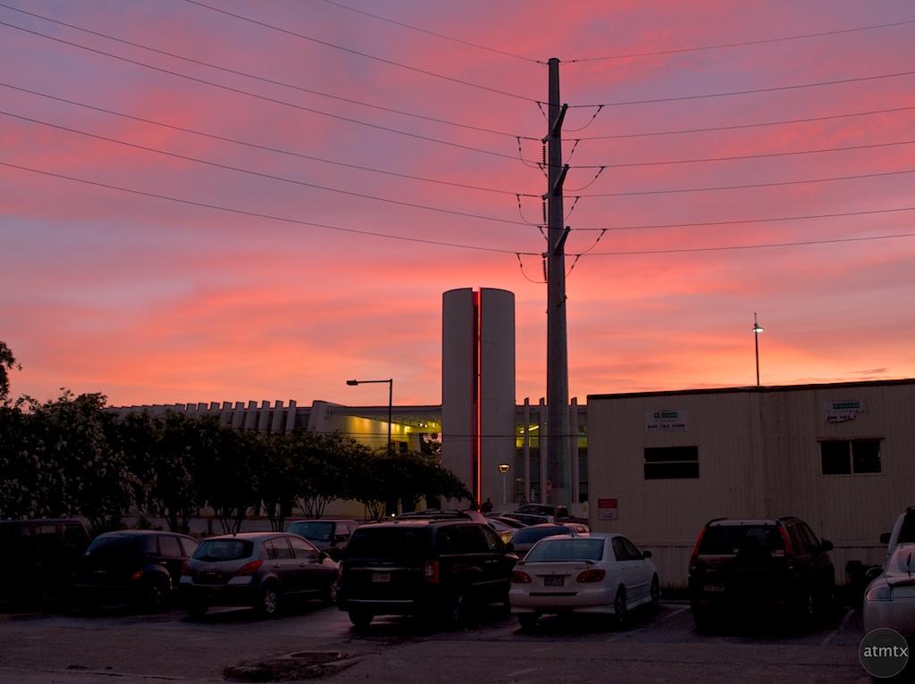 Rainey Street Sunset - Austin, Texas