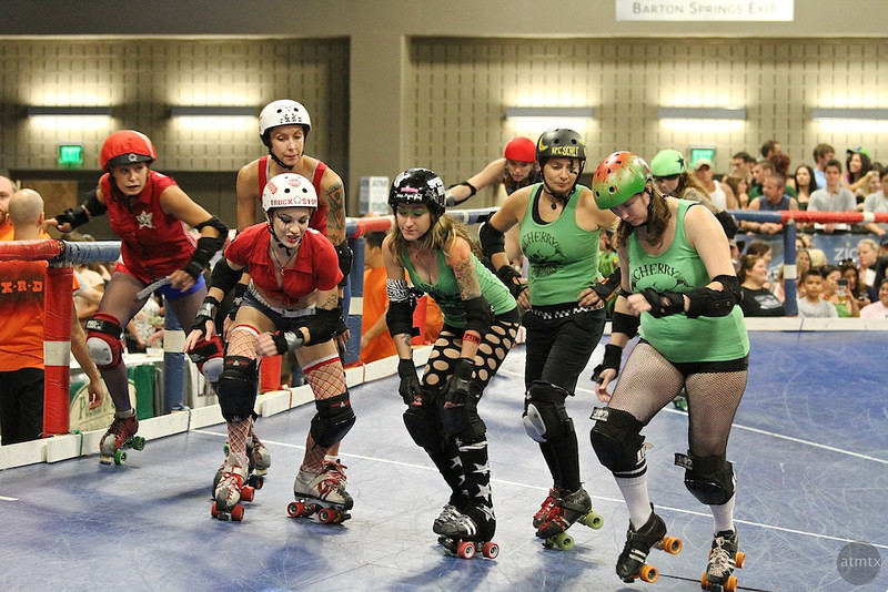 Texas Roller Derby, Starting Line - Austin, Texas