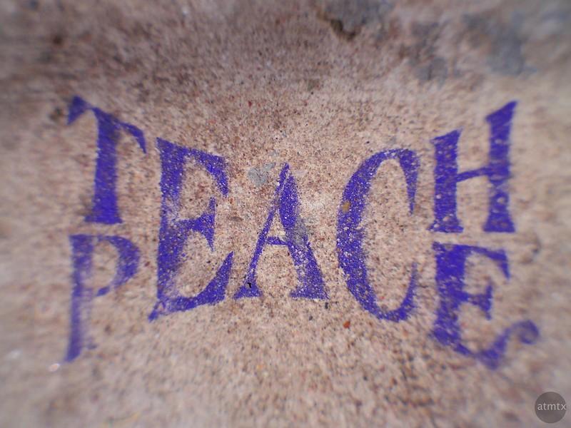 Teach Peace - Austin, Texas