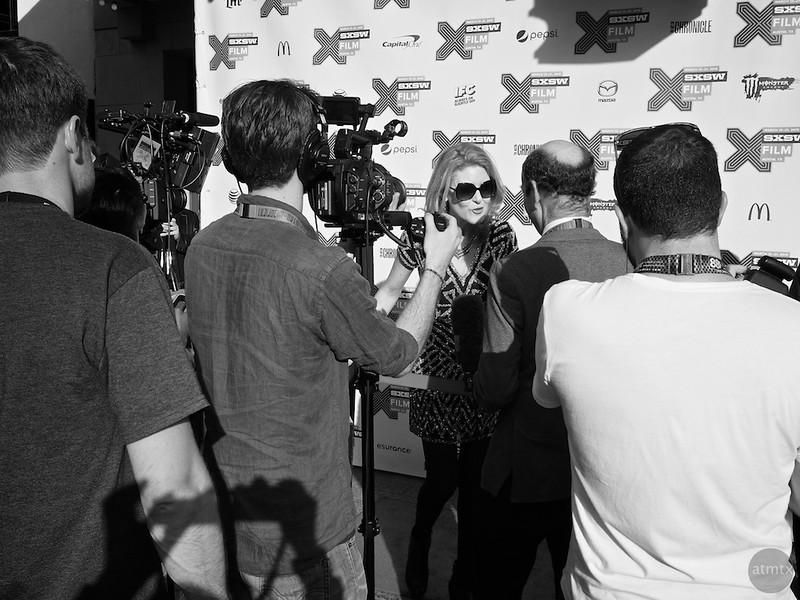 On the Red Carpet, SXSW 2015 - Austin, Texas